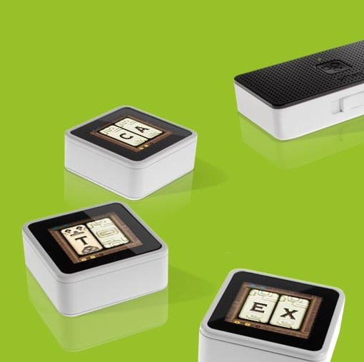 Cubes interactifs connectés intelligents - Sifteo -  -