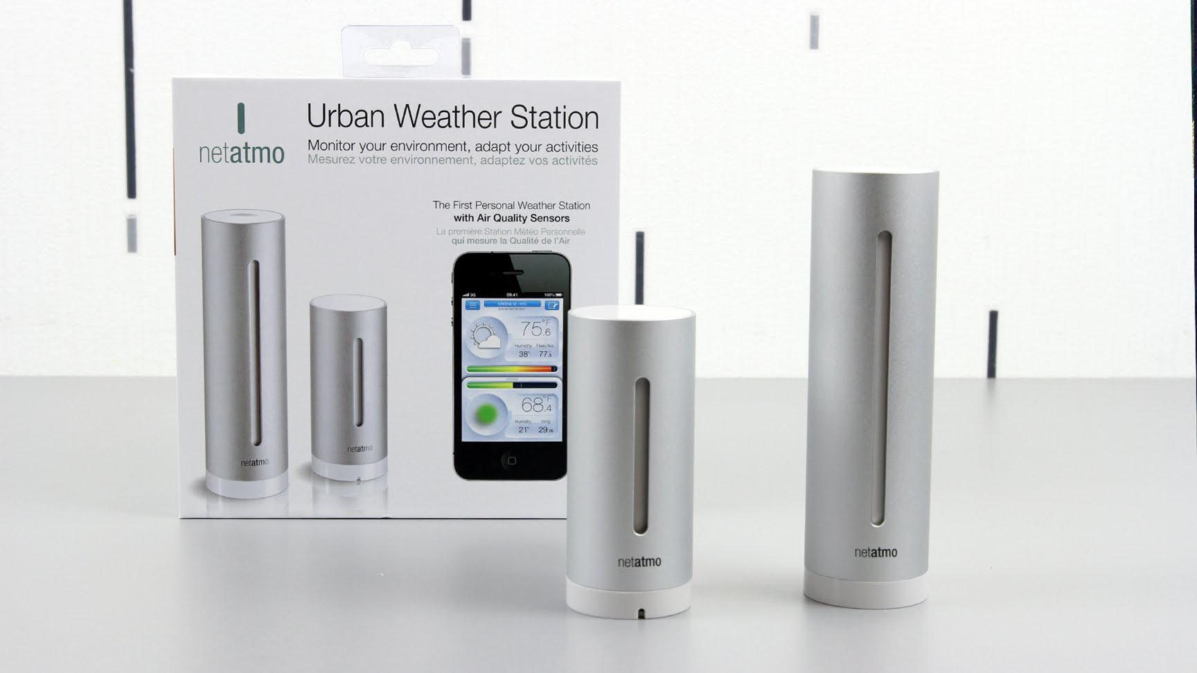 netatmo station m t o urbaine netatmo. Black Bedroom Furniture Sets. Home Design Ideas