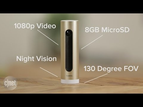 Netatmo welcomes you to the future with its innovative but slow security camera Caméra de sécurité Netatmo